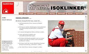 www.kranz-isoklinker.de
