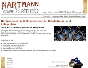 Schweissbetrieb Hartmann